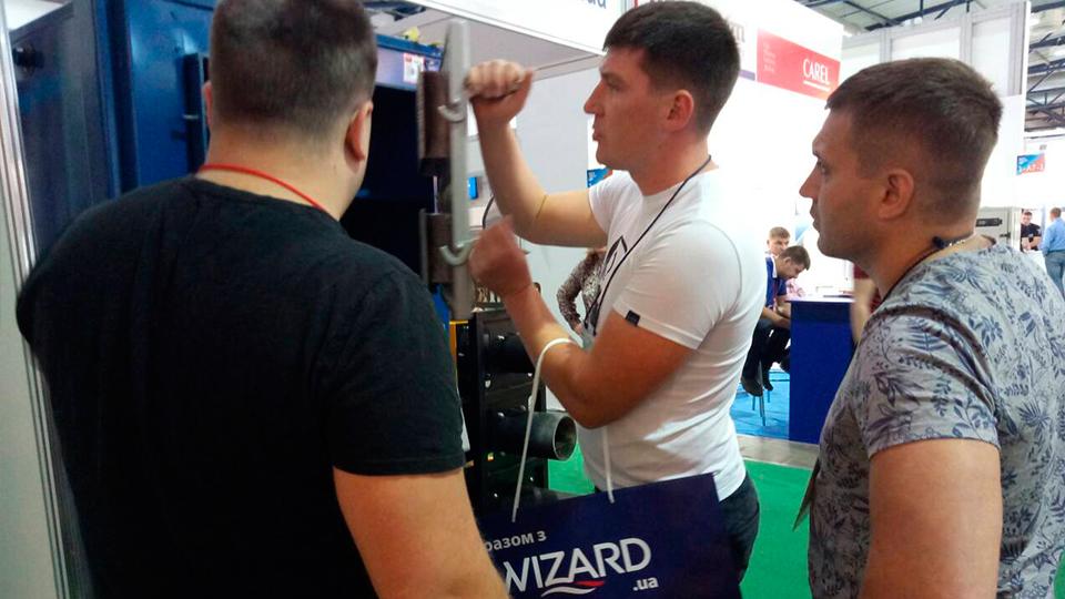 За время выставки «АкваТерм Киев» наш стенд посетили сотни заинтересованных посетителей